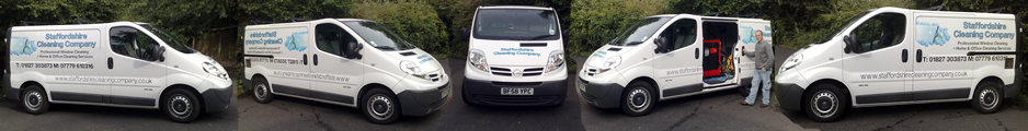 Staffordshire Cleaning Company Fleet